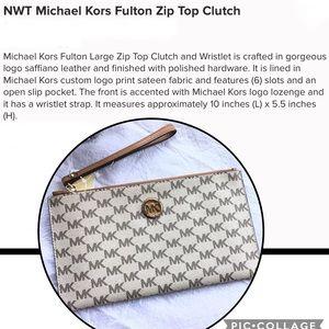 MICHAEL Michael Kors Fulton Clutch